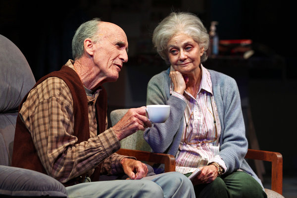 Hal Landon Jr. and Lynn Milgrim in South Coast Repertory's 2014