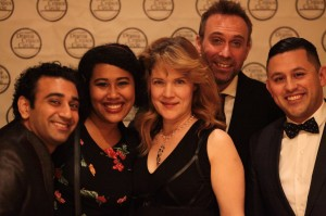 Erika Soto, Nikhil Pai, Melissa Chalsma, David Melville and one other from the Independent Shakespeare Company