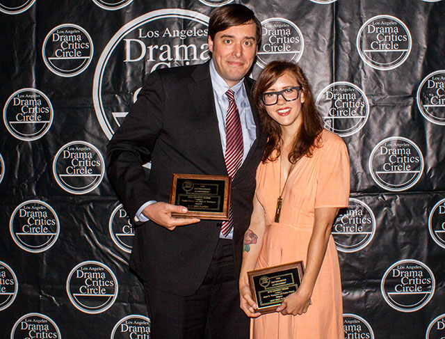 Kaitlyn Pietras and Jason H. Thompson, CGI winners for their work in Vietgone, East West Players