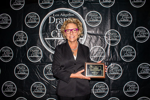 Yvonne Bell, our inaugural Theater Angel Award winner