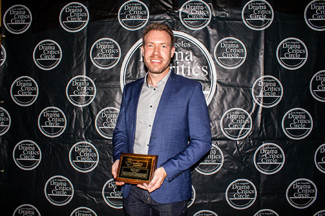 Stephen Gifford, Set Design winner for Cabaret