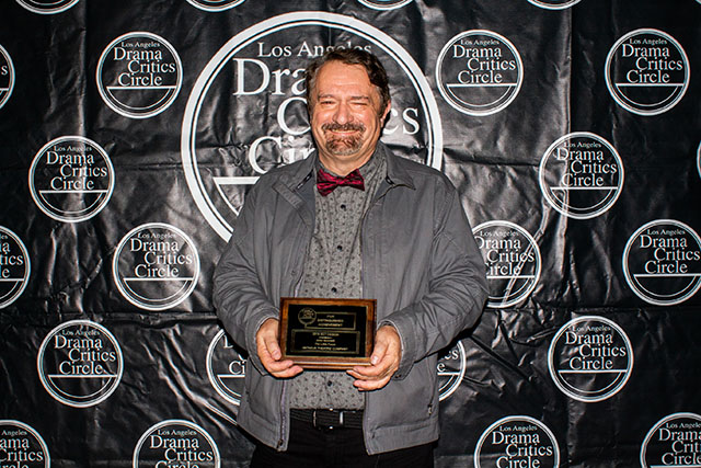 John Iacovelli, Set Design winner for Antaeus Theatre Company's The Little Foxes