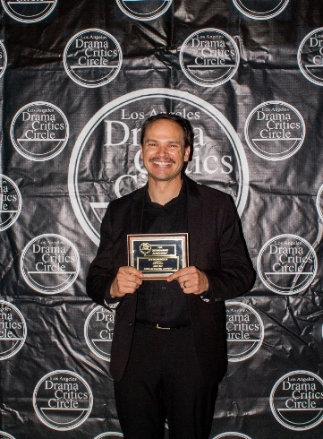 Jeff Gardner, Sound Design winner for Native Son at Antaeus Theatre Company