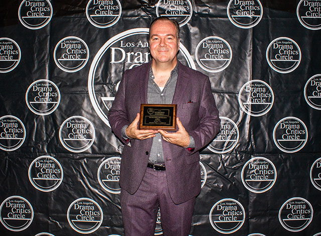 Rob Nagle, award winner for his Featured Performance in The Little Foxes at Antaeus Theatre Company