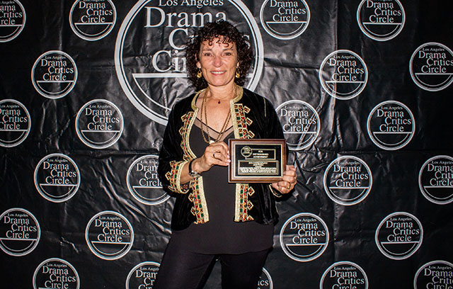 Janet Roston, award winner for her outstanding choreography for Cabaret at Celebration Theatre